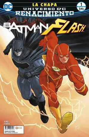 Comic Batman / Flash The Button 04 Tomos Español Completo