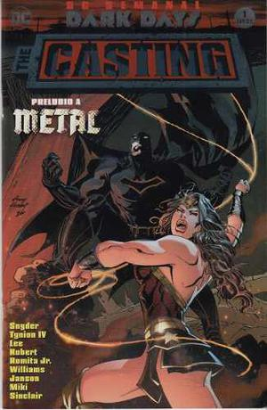 Comic Batman Metal The Casting # 1 Editorial Televisa