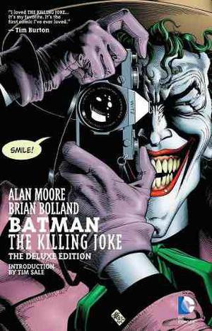 Comic Batman The Killing Joke Deluxe Nuevo Sellado Ingles