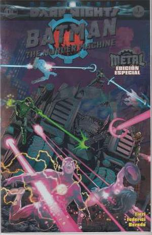 Comic Batman The Murder Machine Metal Edicion Especial