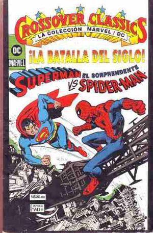 Comic Crossover Classics Superman Vs. Spiderman Dc Vs Marvel