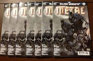 Comic Dark Nights Metal #6 Jimlee Cover (ingles) Dc Comics