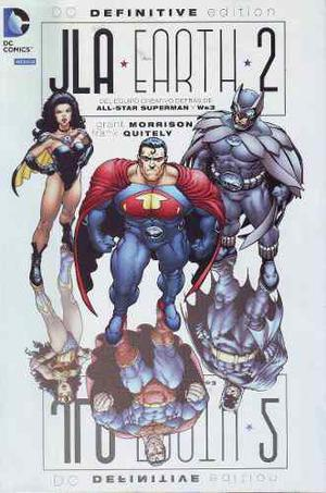 Comic Dc Definitive Jla Earth 2 Morrison Español Televisa