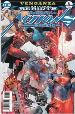 Comic Dc Universe Rebirth Action Comics # 12 Español Nuevo