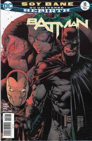 Comic Dc Universe Rebirth Batman # 10 Nuevo Español