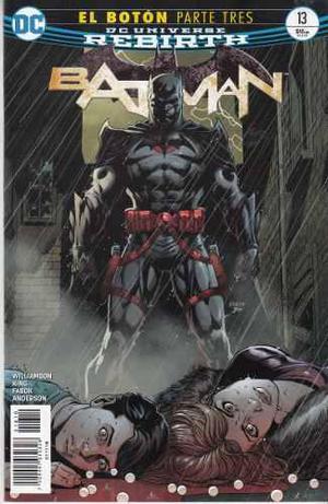 Comic Dc Universe Rebirth Batman # 13 Español Nuevo
