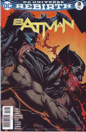 Comic Dc Universe Rebirth Batman # 3 Nuevo Español