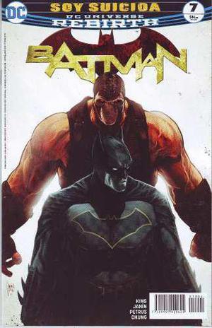 Comic Dc Universe Rebirth Batman # 7 Nuevo Español