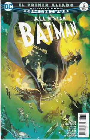 Comic Dc Universe Rebirth Batman All Star # 12 Nuevo Españo