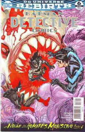 Comic Dc Universe Rebirth Batman Detective Comics # 6 Nuevo