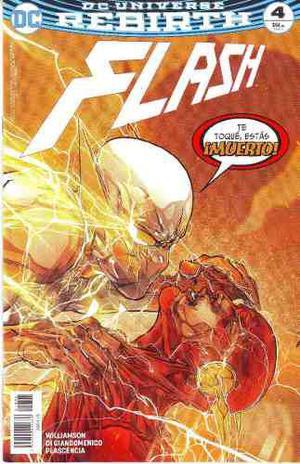 Comic Dc Universe Rebirth Flash # 4 Nuevo Español Televisa