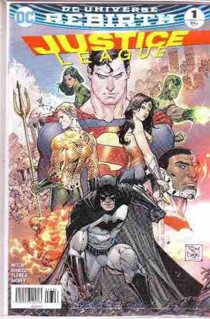 Comic Dc Universe Rebirth Justice League # 1 Español Nuevo