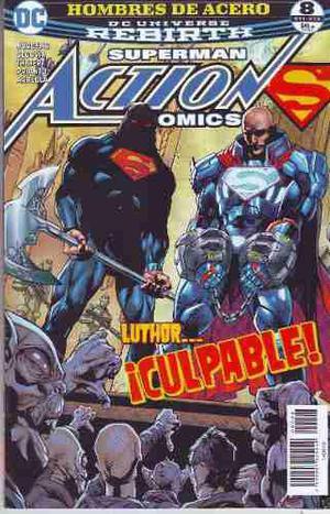 Comic Dc Universe Rebirth Superman Action Comics # 8 Nuevo
