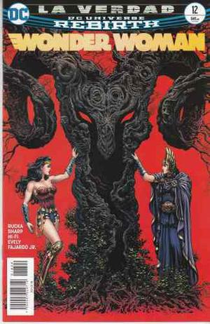 Comic Dc Universe Rebirth Wonder Woman # 12 Español
