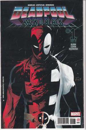 Comic Deadpool Back In Black Saga Completa 5 Tomos Nueva