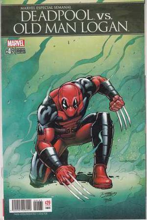 Comic Deadpool Vs Old Man Logan Tomo 4 Carton Y Bolsita