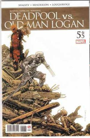 Comic Deadpool Vs Old Man Logan Tomo 5 Carton Y Bolsita