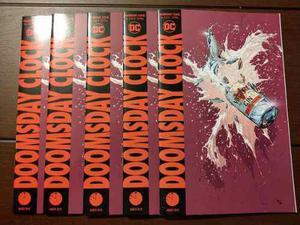 Comic Doomsday Clock #3 De 12 (ingles) Dc Comics