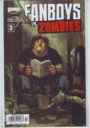 Comic Fanboys Vs. Zombies Lote 10 Tomos 01 Al 11 Kamite
