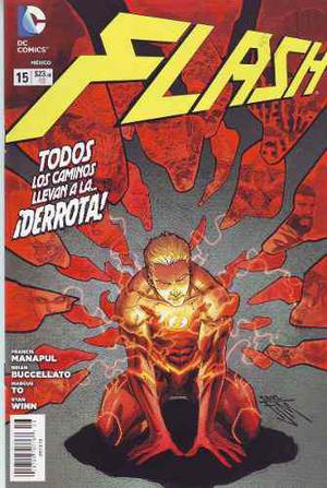 Comic Flash New 52 Varios Números Disponibles Televisa