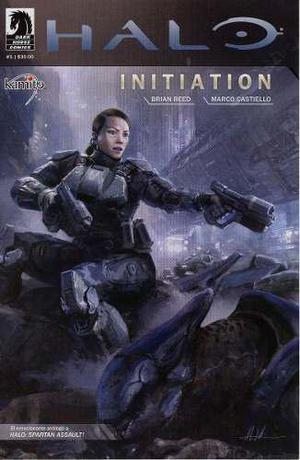 Comic Halo Initiation Saga Completa Dark Editorial Kamite