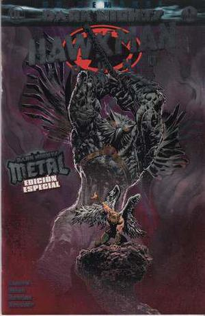 Comic Hawkman Found Dark Nights Metal Edicion Especial
