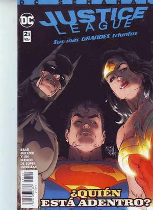 Comic Justice League Saga Sus Mas Grandes Triunfos 03 Tomos