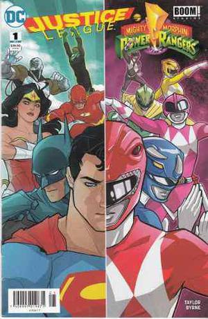 Comic Justice League/power Rangers Saga 06 Tomos Completa