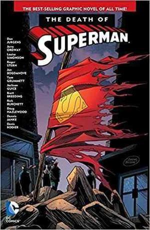 Comic La Muerte De Superman Edicion Ingles Tapa Blanda Nuevo