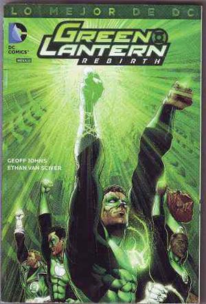 Comic Lo Mejor De Dc # 3 Green Lantern Rebirth Geoff Johns