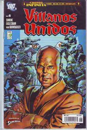 Comic Lote 05 Tomos Villanos Unidos Crisis Infinita Vid
