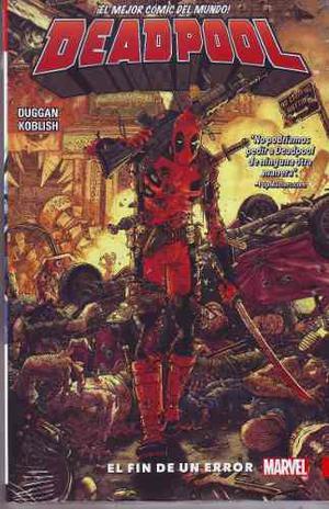 Comic Marvel Deadpool Volumen 2 El Fin De Un Error Nuevo