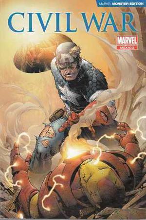 Comic Marvel Monster Edition Civil War Capitan Español