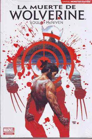 Comic Marvel Monster Edition La Muerte De Wolverine Mcniven