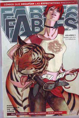 Comic Que Desafian Fables Volumen 2 Vertigo Español