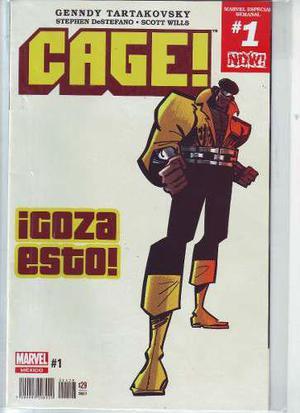 Comic Saga Cage 04 Tomos Completa Carton Y Bolsa Marvel #1