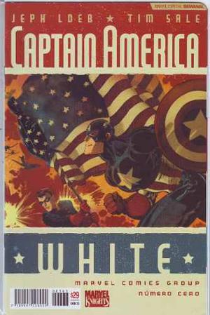 Comic Saga Captain America White 6 Tomos Jeph Loeb Televisa