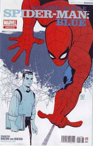 Comic Saga Spiderman Blue Completo 06 Tomos Edit.televisa