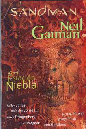 Comic Sandman Libro 4 Estacion De Niebla Español Televisa