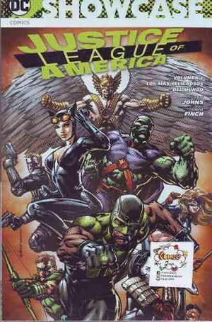 Comic Showcase Justice League Of America Volumen 1 Televisa