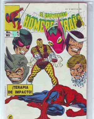 Comic Spiderman Año 1992 Varios Tomos Novedades Editores