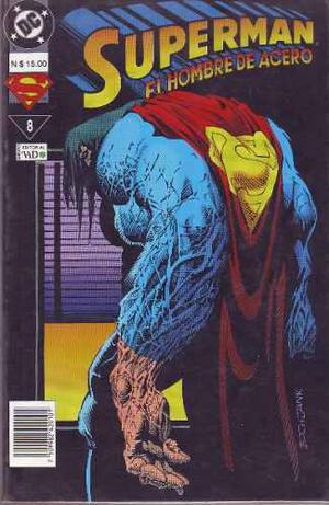 Comic Superman El Hombre De Acero # 8 Editorial Vid Español