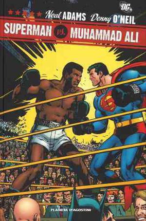 Comic Superman Vs. Muhammad Ali Tapa Dura Gigante Completo