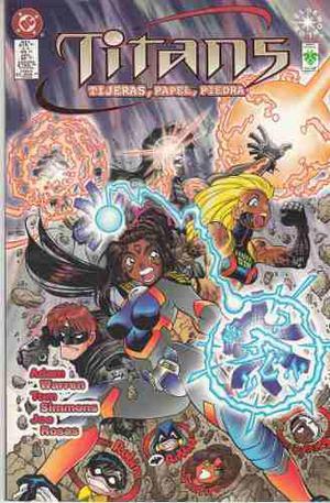 Comic Titans Tijeras, Papel, Piedra Editorial Vid