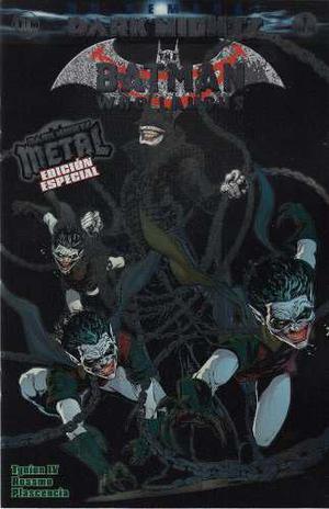Comics Batman Who Laughs Dark Nights Metal Edicion Especial