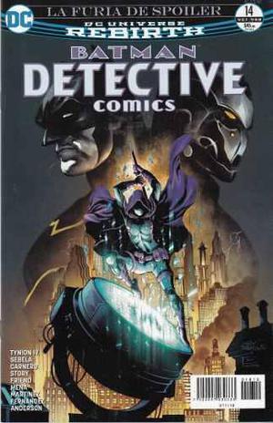 Comics Dc Universe Rebirth Batman Detective Comics # 14 Nuev