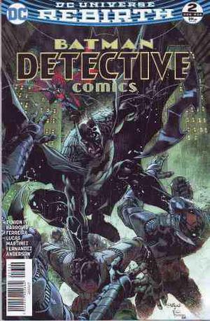 Comics Dc Universe Rebirth Batman Detective Comics # 2 Nuevo