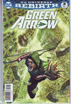 Comics Dc Universe Rebirth Green Arrow # 3 Nuevo Cartoncito