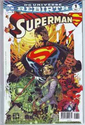 Comics Dc Universe Rebirth Superman # 1 Nuevo