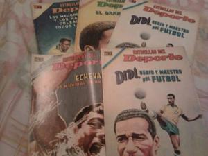Comics De Estrellas Del Deporte Editorial Novaro Varios